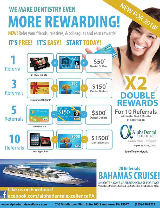 rewards flyer